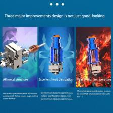 3D Hot End V6 Экструзия Голова Высокая Расходная труба для Phetus Dragon Voron 3D Принтер Принтер Синий – фото 2