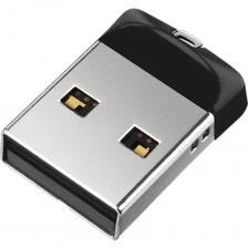 USB Flash накопитель 16GB SanDisk Cruzer Fit (SDCZ33-016G-G35) USB 2.0 Черный – фото 1