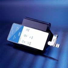 USB-Flash-накопитель Xiaomi Aigo Patriot Dual Interface Metal U Disk Type-C-USB 256GB (U350) – фото 3