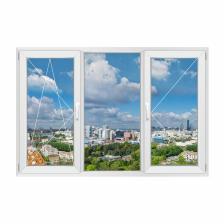 Трехстворчатое окно Rehau Grazio левое – фото 1