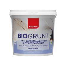 Грунт деревозащитный антисептический Neomid BioGrunt / Неомид БиоГрунт