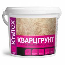 Грунтовка под декоративную штукатурку Кварцгрунт KRATEX 15 кг