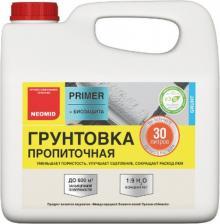 Грунтовка Neomid Primer Пропиточная, Противоплесневая 3 л