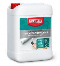 Грунтовка NEOLAB ГЛУБОКОПРОНИКАЮЩАЯ для внутренних работ 10 л 10 кг