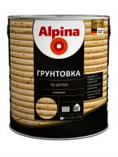 Грунтовка Alpina Грунт антисептик Влагозащитная 0.75 л