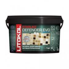 Затирка для плитки двухкомпонентная Litokol Starlike Defender Evo / Литокол Старлайк Дефендер Эво