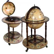 Глобус-бар напольный D=42 см, 93*60*60 см.
