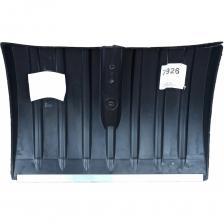 Лопата для снега беркхаус № 4 пластиковая, с планкой, без черенка 7926