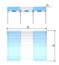 Навес теневой для тренажеров бетонируемый Romana 301.37.03 – фото 1
