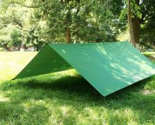 Тент туристический 3х3 (зелёный) – фото 2