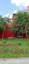 Качели металлические ХИТ с двумя качелями гнездо 100 см – фото 3