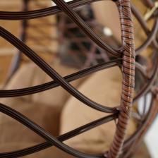 Подвесное кресло Kvimol КМ1034 большая корзина – фото 4