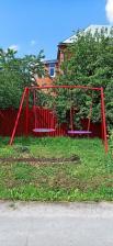 Качели металлические ХИТ с двумя качелями гнездо 100 см – фото 2