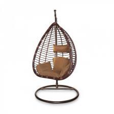 Подвесное кресло KVIMOL KM 0016 средняя коричневая корзина