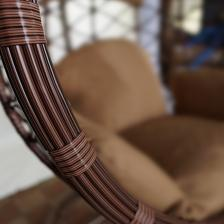 Подвесное кресло Kvimol КМ1034 средняя корзина – фото 3