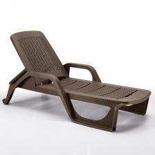 Мебель Шезлонг B:RATTAN NILO (190x71x46), коричневый