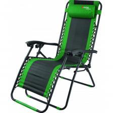 Многопозиционное складное кресло-шезлонг palisad camping 160х63.5х109cм 69606
