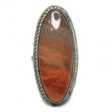 Кольцо с яшмой 174-yhr