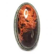 Кольцо с яшмой 195-yhr