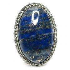 Кольцо с лазуритом 131-lr