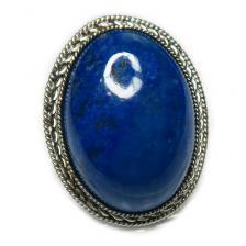 Кольцо с лазуритом 137-lr