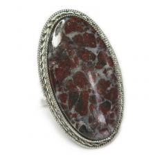 Кольцо с яшмой 048-yhr