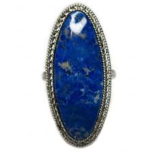 Кольцо с лазуритом 136-lr
