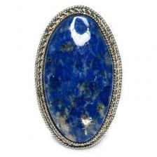Кольцо с лазуритом 134-lr