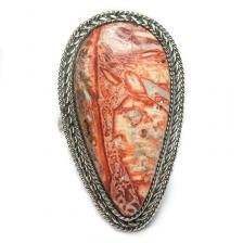 Кольцо с яшмой 170-yhr