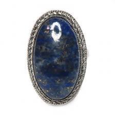 Кольцо с лазуритом 139-lr