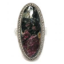Кольцо с эвдиалитом 805-nr