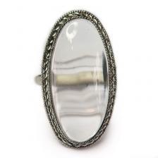 Кольцо с хрусталем 980-nr
