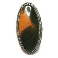 Кольцо с яшмой 198-yhr
