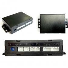Парковочный радар Система помощи при парковке ONE СПП-001, дачкики черного цвета – фото 4