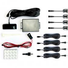 Парковочный радар Система помощи при парковке ONE СПП-001, дачкики черного цвета – фото 1