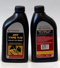 Масло трансмиссионное TOYOTA ATF 1л ATF Type T-IV (США) 00279-000T4