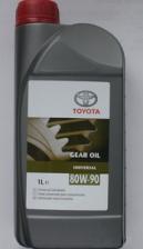 Toyota Масло трансмиссионное 80w90 TOYOTA 1л GL4/GL5