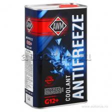 AWM Антифриз AWM 12+ Ready Mix готовый красный 1 л 430208036