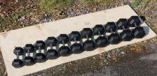 Гантель гексагональная обрезиненная ZSO 3 кг – фото 2
