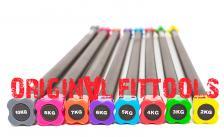 Бодибар Original FitTools 8 кг розовый наконечник – фото 3