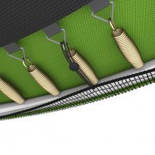Батут UNIX line Simple 6 ft Green (inside) с лестницей – фото 3