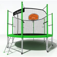 Батут i-Jump Basket 6ft green – фото 4
