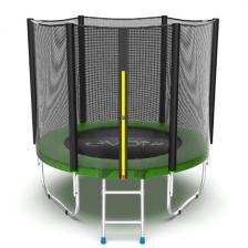Батут с внешней сеткой и лестницей EVO Jump External 6ft (Green)