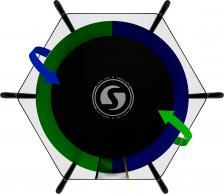 Батут SWOLLEN Classic Black 6 FT – фото 2