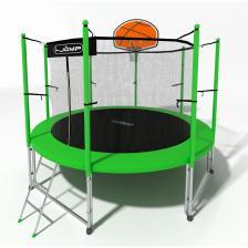 Батут i-Jump Basket 6ft green – фото 3