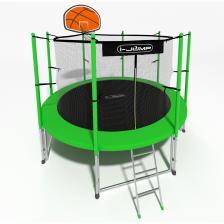 Батут i-Jump Basket 6ft green – фото 1