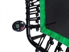 Фитнес -батут SportElite 135см FB-1351 с ручкой и компьютером – фото 2