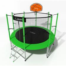 Батут i-Jump Basket 6ft green – фото 2