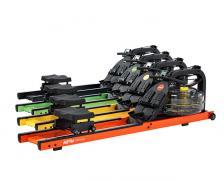 Гребной тренажер First Degree Fitness Neon Plus - оранжевый – фото 2