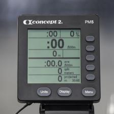 Гребной тренажер Concept2 D PM5 (черный) – фото 3